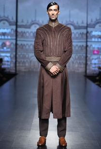 pleated-sherwani