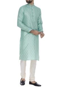 pure-silk-embroidered-kurta-set