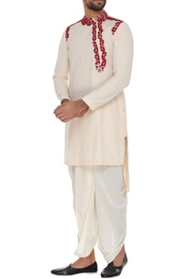embroidered-short-kurta