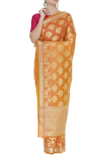 tree-motif-banarasi-sari-with-unstitched-blouse