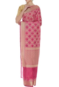 banarasi-saree-with-unstitched-blouse