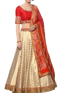 banarasi-silk-lehenga-set-with-dabka-work