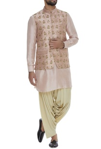 embroidered-raw-silk-bundi-jacket