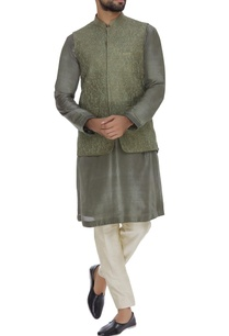 raw-silk-cord-embroidered-nehru-jacket