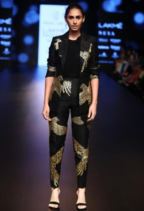 raw-silk-foil-printed-cigarette-pants