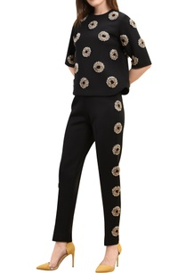 floral-polka-dot-embroidered-cigarette-pants