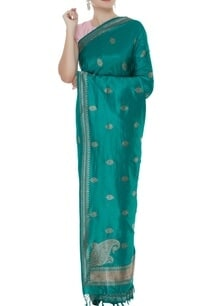 handwoven-sari-with-unstitched-blouse