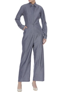 rayon-collared-jumpsuit