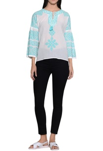 tulip-sleeves-embroidered-top