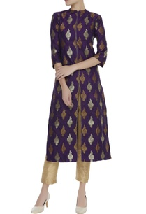 brocade-silk-kurta