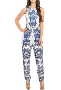 fitted-jumpsuit-with-abstract-print
