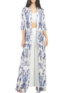 printed-long-cape-with-inner-and-flared-pants