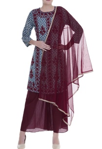 printed-kurta-with-sheer-palazzo-dupatta