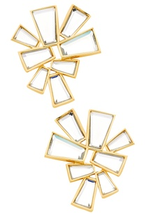 mirror-stud-earrings