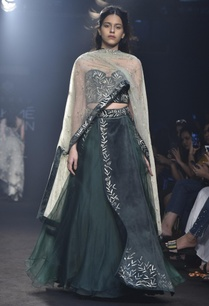lehenga-with-cape-corset-blouse