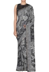 printed-sari-with-blouse