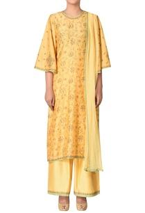 hand-embroidered-silk-chanderi-kurta-set