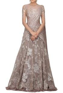 resham-cutdana-embroidered-lehenga-sari-set
