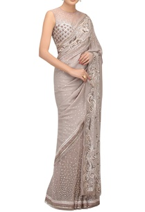 resham-sequin-hand-embroidered-sari-and-blouse