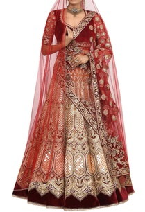 velvet-gota-zardozi-embroidered-bridal-lehenga-set