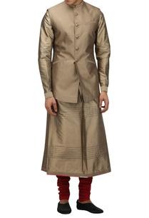 metallic-dupion-silk-nehru-jacket