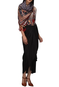 floral-satin-scarf-with-tassels