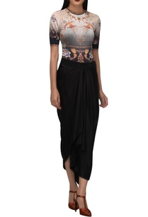 phoenix-bird-oriental-floral-motif-bodysuit
