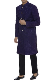 self-embroidered-sherwani