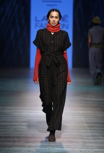 checkered-handwoven-cotton-jumpsuit