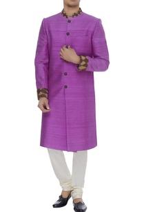 embroidered-matka-silk-sherwani