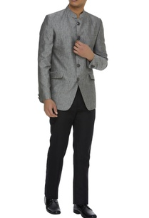 textured-linen-nehru-jacket