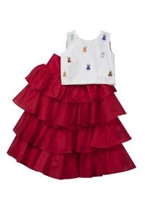 ruffled-lehenga-skirt-with-top