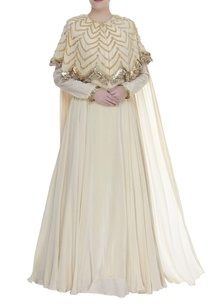 anarkali-gown-with-embroidered-cape