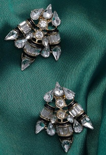 embellished-stone-stud-earrings