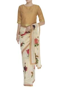 diagonal-print-blouse