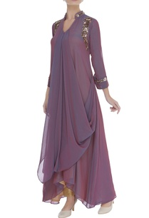 gathered-drape-tunic-with-embroidery