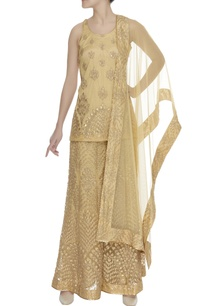 gota-zari-embroidered-sharara-with-kurta-set