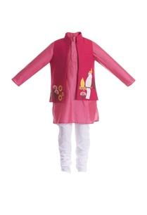 parrot-embroidered-motif-jacket-with-kurta-set