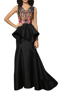 fit-flared-long-skirt
