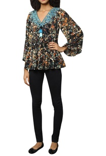 multicolored-georgette-top