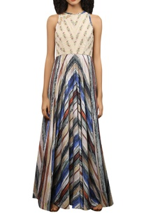 crepe-silk-bead-embroidered-dress