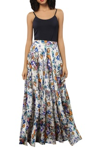floral-printed-maxi-flared-skirt