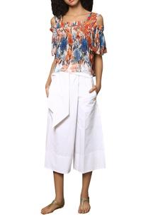 embroidered-digital-print-cold-shoulder-blouse