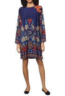 poly-crepe-silk-printed-shift-dress