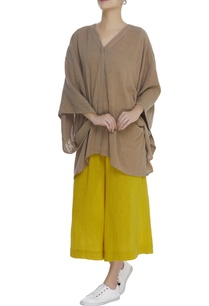 kaftan-v-neck-blouse