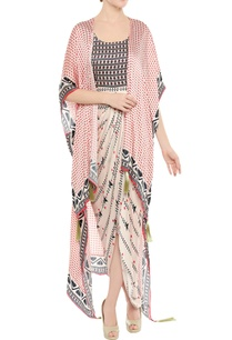 draped-dress-with-cape-by-soup