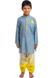 printed-full-sleeves-kurta-with-patiala