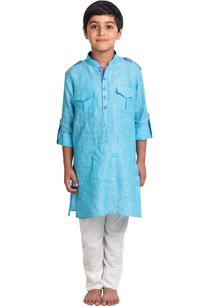 rolled-up-sleeves-kurta-with-pants