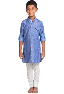 denim-kurta-with-trouser