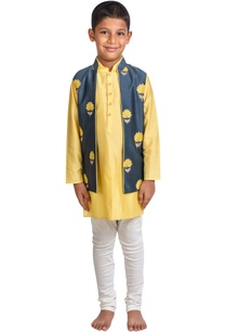 floral-embroidered-jacket-with-kurta-and-pants